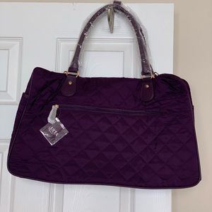 Plum Colored Ulta Tote Bag (new, with tags)